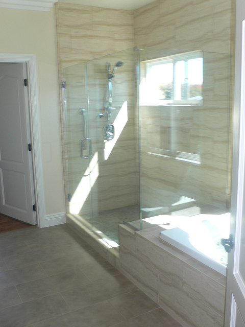 New Construction in Los Angeles traditional bathroom