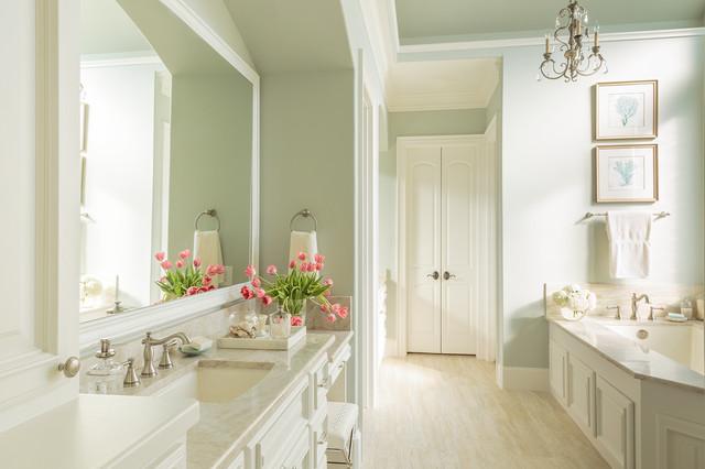 New Construction Master Bathroom Mediterranean