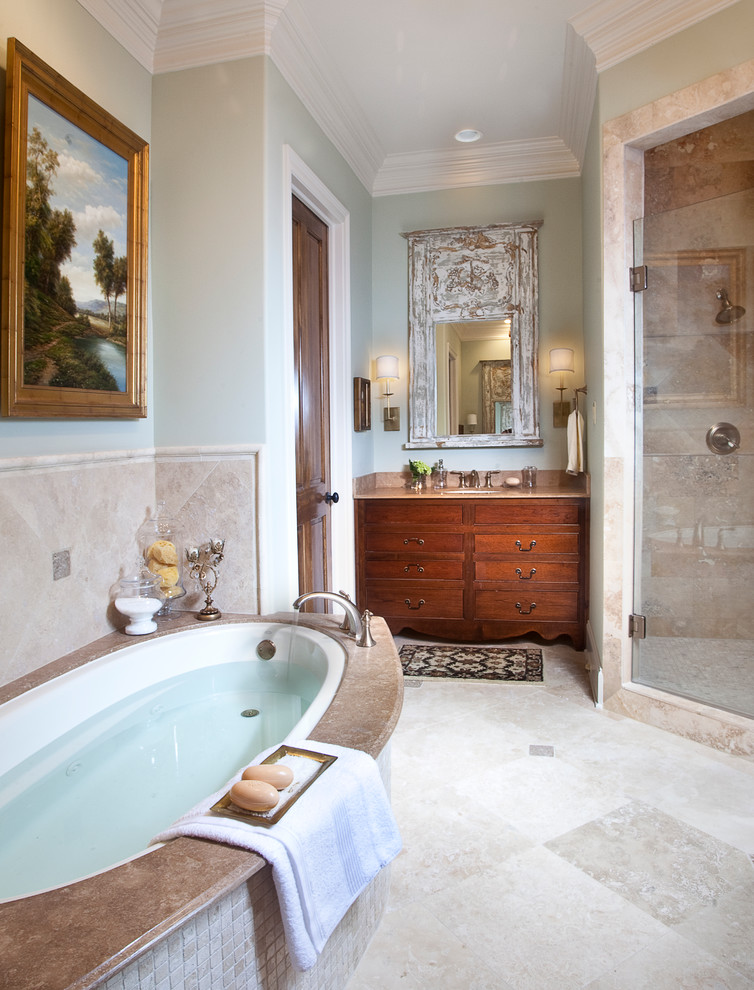 New Construction on the Bayou - Traditional - Bathroom ...