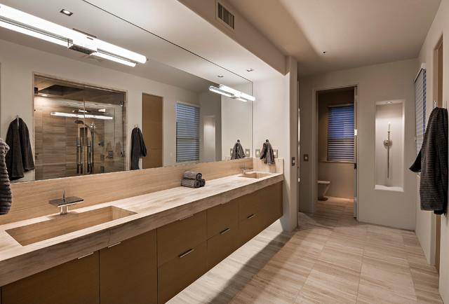 New Contemporary at Rose Quartz / Desert Mountain contemporary-bathroom