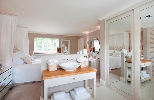 New England Contemporary Bathroom Surrey By April Hamilton Designs