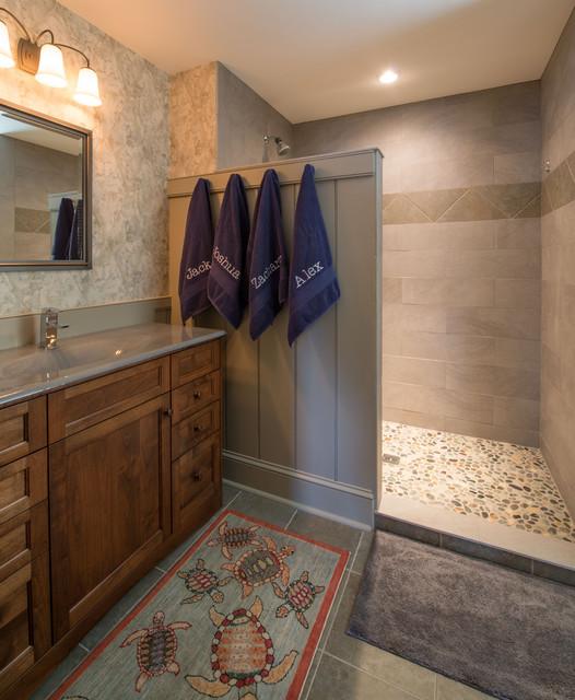 New Bathroom Designs: New England Colonial