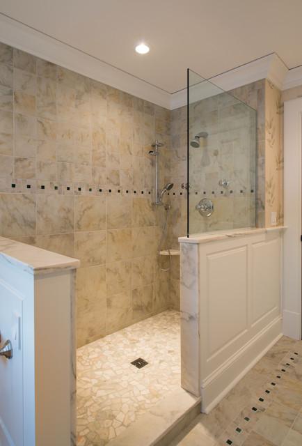 New England Colonial Traditional Bathroom