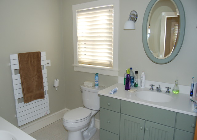 New England Lakeside Timberpeg Traditional Bathroom Boston By Old Hampshire Designs Inc