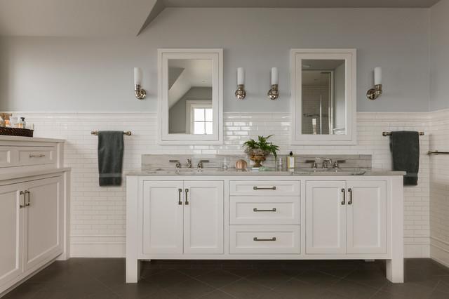 New England Bathroom Design Ideas ~ New england ocean view beach style bathroom boston