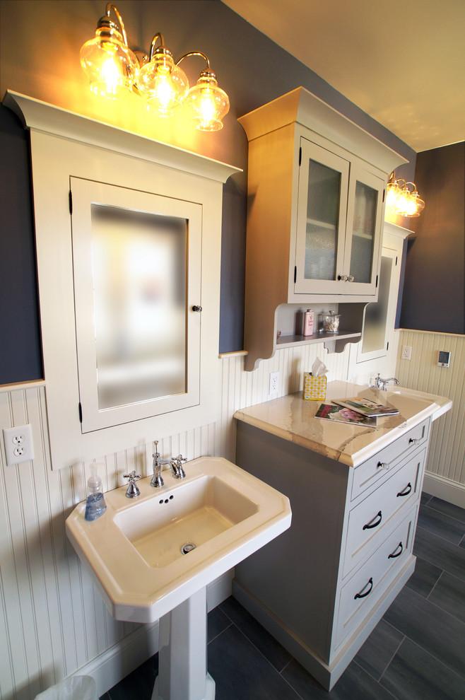 New Farm House Bathroom - Farmhouse - Bathroom - St Louis ...