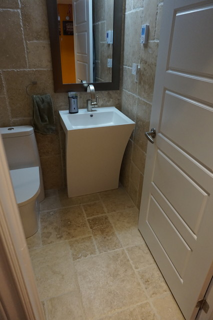 New Hamburg Basement Modern Bathroom Toronto By