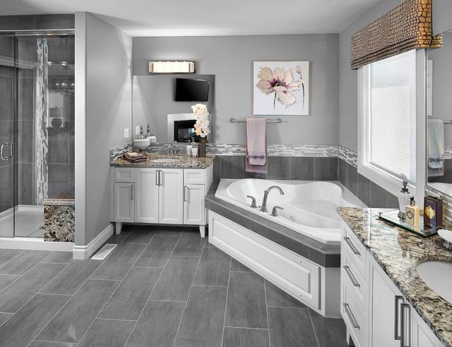 New hampshire in allard transitional bathroom for Bathroom ideas edmonton