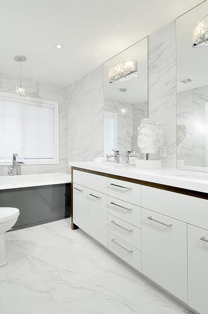 New Haven Drive contemporary-bathroom