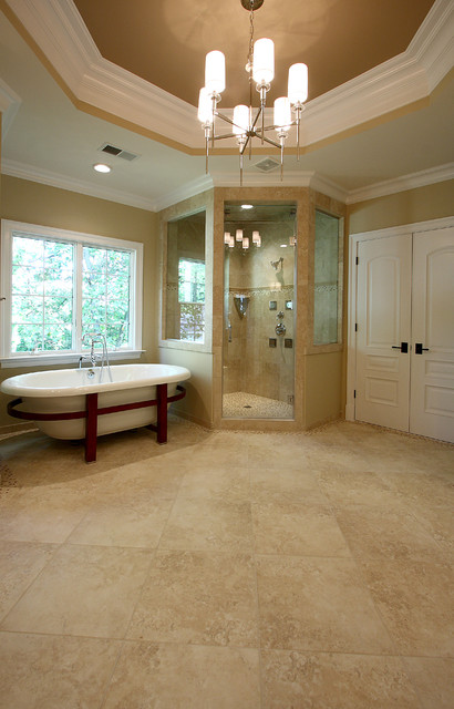 New Home Design traditional-bathroom