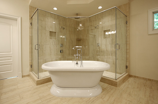 New Home Design contemporary-bathroom
