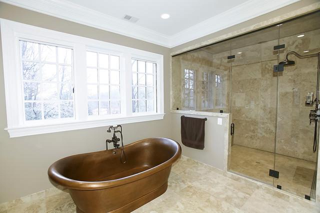 New Home contemporary-bathroom