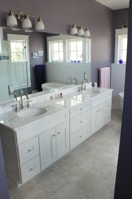 New Home traditional-bathroom