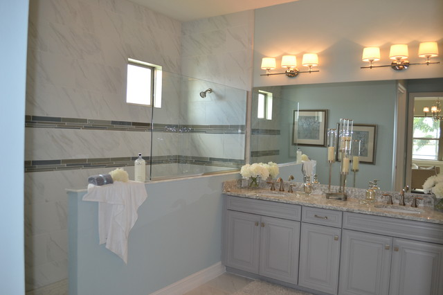 New homes toscana isles in venice florida beach style for Bathroom remodeling venice fl