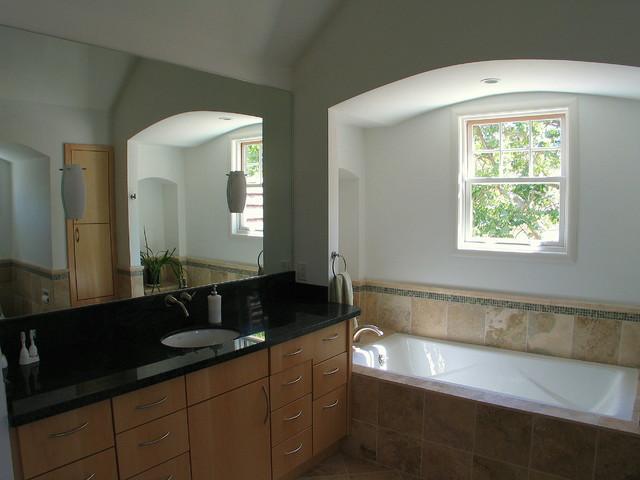 New Master bath contemporary-bathroom