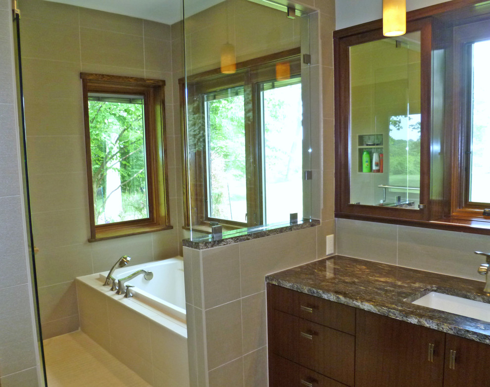 New master bath suite in Sewickley Heights (near ...