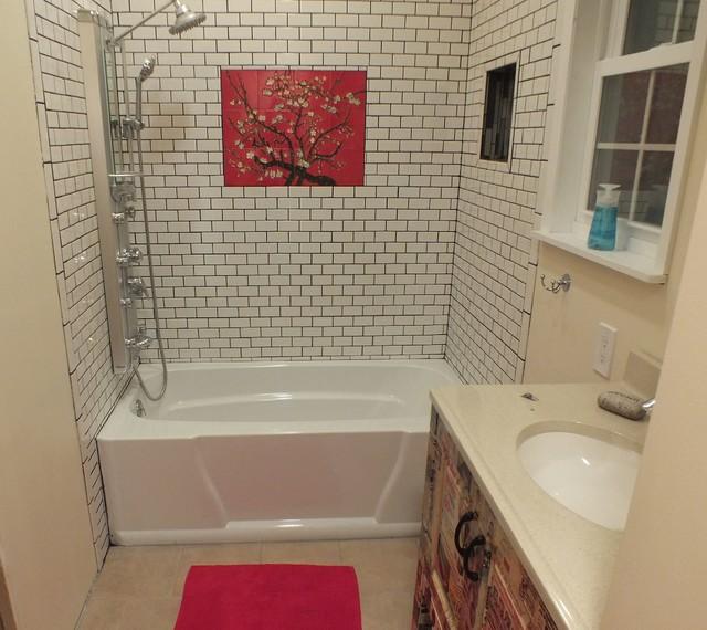 New Master Bathroom - Eclectic - Bathroom - new york