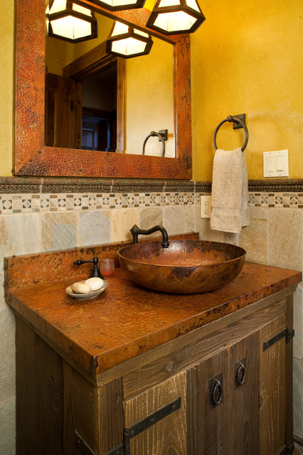 Old world african - Change your old bathroom to traditional bathrooms ...