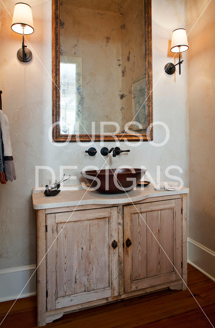 New Orleans French Quarter Home Contemporary Bathroom New Orleans By Ourso Designs