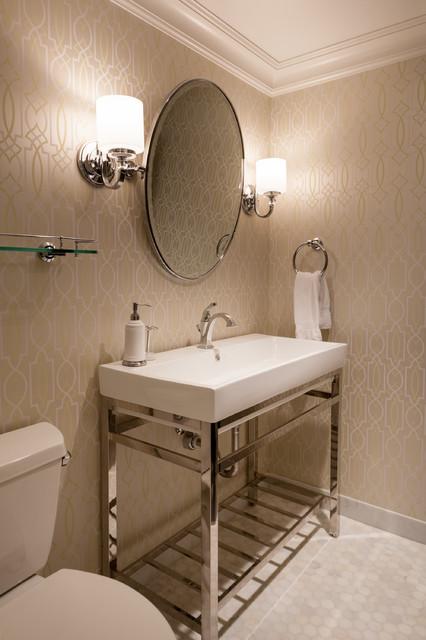 new orleans inspired on yarrow point clectique salle de bain seattle par kristi spouse. Black Bedroom Furniture Sets. Home Design Ideas