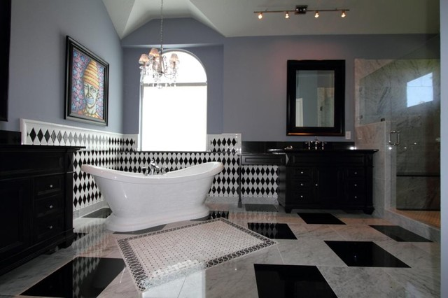 New Orleans Themed Bathroom Remodel Transitional Bathroom Interesting New Orleans Bathroom Remodeling