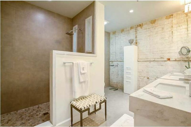 New orleans warehouse district loft renovation for Bathroom renovation new orleans