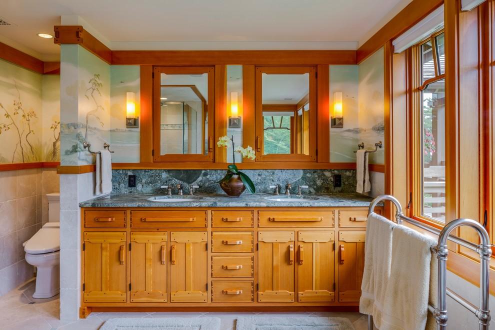New Residence, Camden, Maine - Craftsman - Bathroom ...