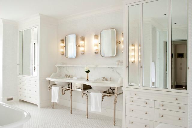 Outstanding Bathroom Lighting Over Mirror: New Single Family Residence