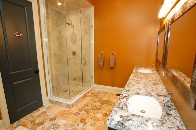 New street Burlington - Traditional - Bathroom - toronto - by Dawn Anastasakis Design
