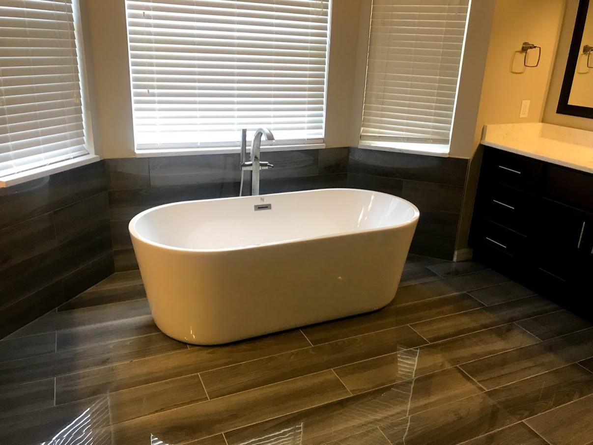 New Tampa | Modern | 2nd Floor Master Bathroom Design & Remodel