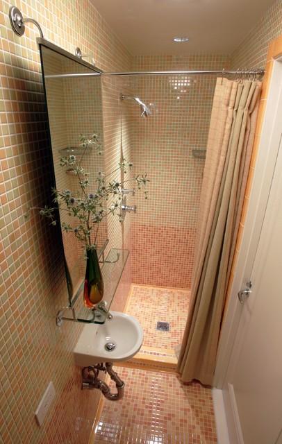 New York Co-Op contemporary-bathroom