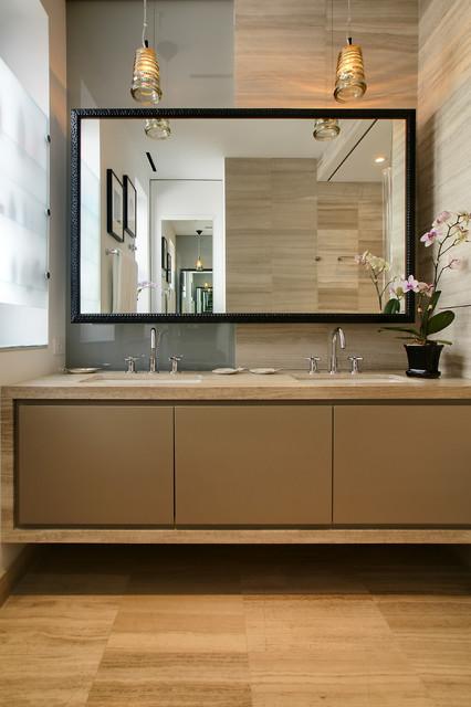 New York Loft Contemporary Bathroom New York By Amanda Zorumski Design Decor