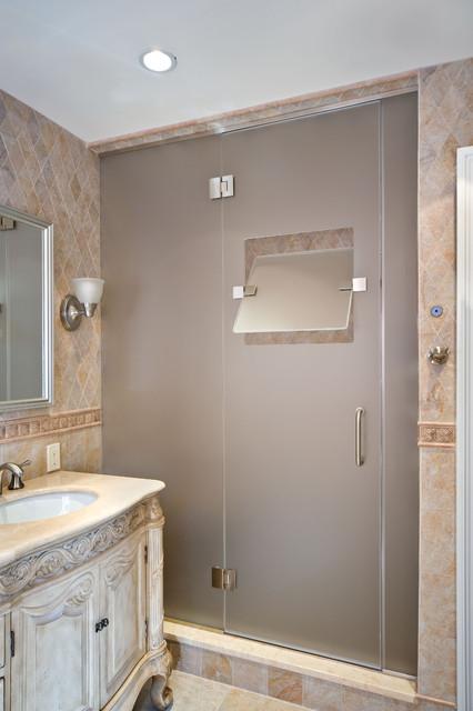 New York Shower Door traditional-bathroom