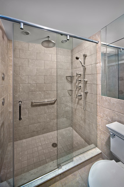 contemporary bathroom doors new york shower door 12437 | contemporary bathroom
