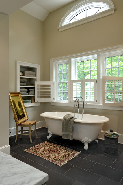 New York Transformation traditional bathroom