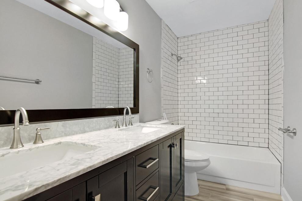 Newark Delaware Guest Bath Remodel - Farmhouse - Bathroom ...