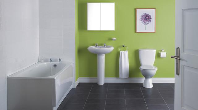 Beautiful Deep Tub Small Bathroom Huge Bathroom Modern Ideas Photos Solid Replace Bathroom Fan Light Bulb Bath And Shower Enclosures Young Kitchen And Bathroom Edmonton BrightLowes Bathroom Vanity Tops Newbury Bathroom Suite   Contemporary   Bathroom   Hampshire   By B\u0026amp;Q