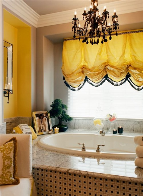 Newlyweds home traditional bathroom
