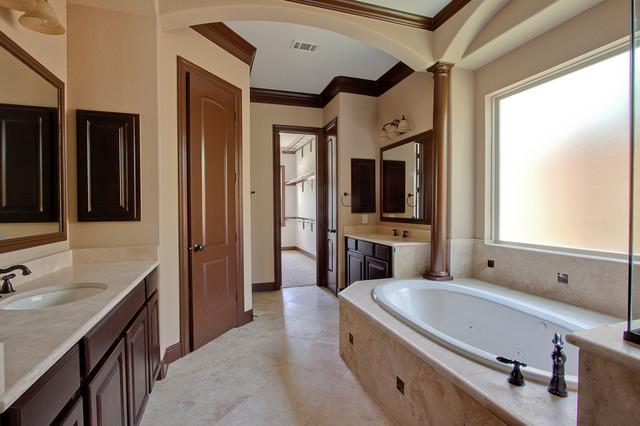 Newmark homes wellington plan traditional bathroom for Bathroom design wellington