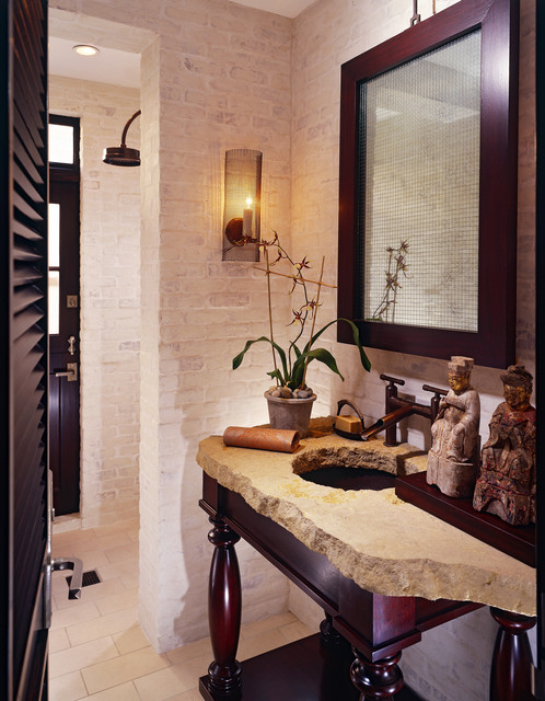 Newport Beach Custom Home 02 tropical bathroom