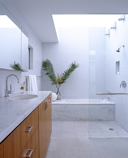 Newport Beach Residence modern bathroom