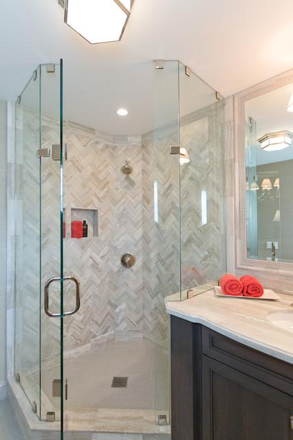 Newport Beach Whole Home Remodel beach-style-bathroom