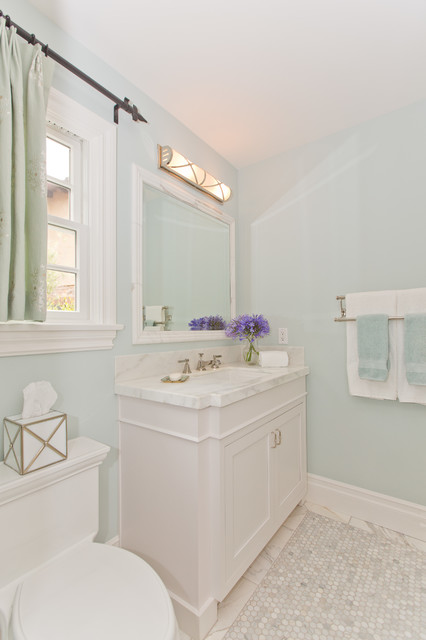 Newport beach whole home remodel for Whole bathroom remodel