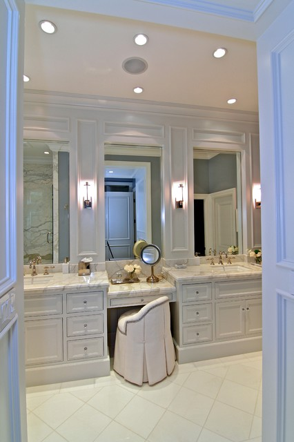 Newport Coast Home traditional bathroom