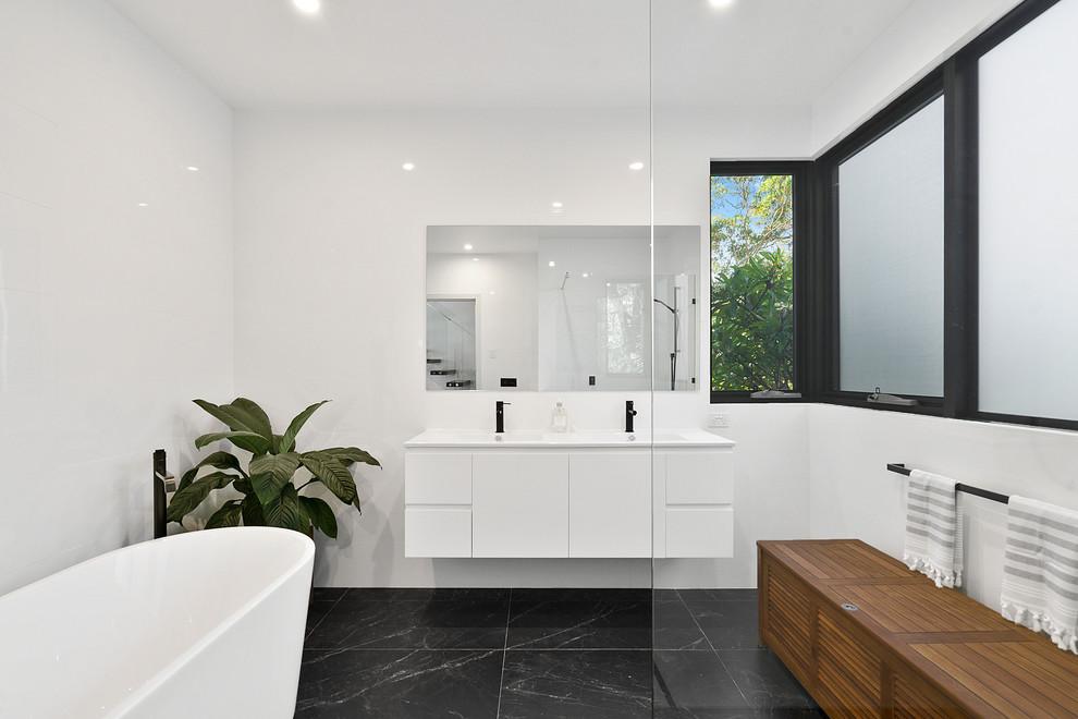 Newport Residence - Contemporary - Bathroom - Sydney - by ...
