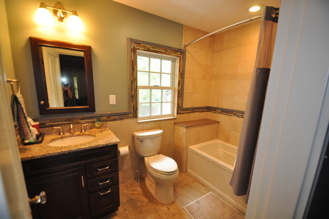 Newton Showplace Bath traditional-bathroom