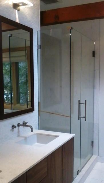 Newton - Bath Redesign contemporary-bathroom
