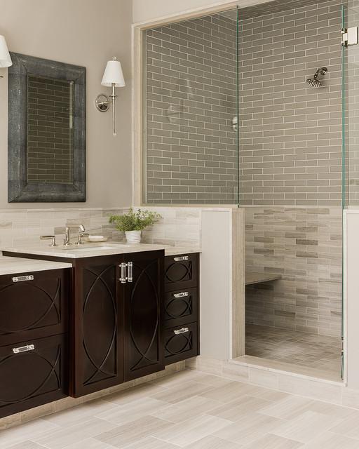 Newton Custom Home transitional-bathroom