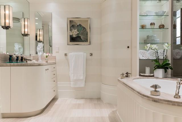 newton mass project classique chic salle de bain boston par f d hodge interiors. Black Bedroom Furniture Sets. Home Design Ideas