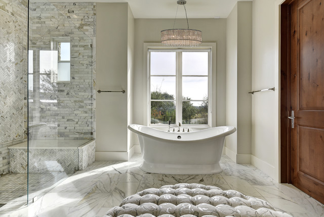Next Level Austin Interior Design Transitional Bathroom Austin By Twist Tours Photography